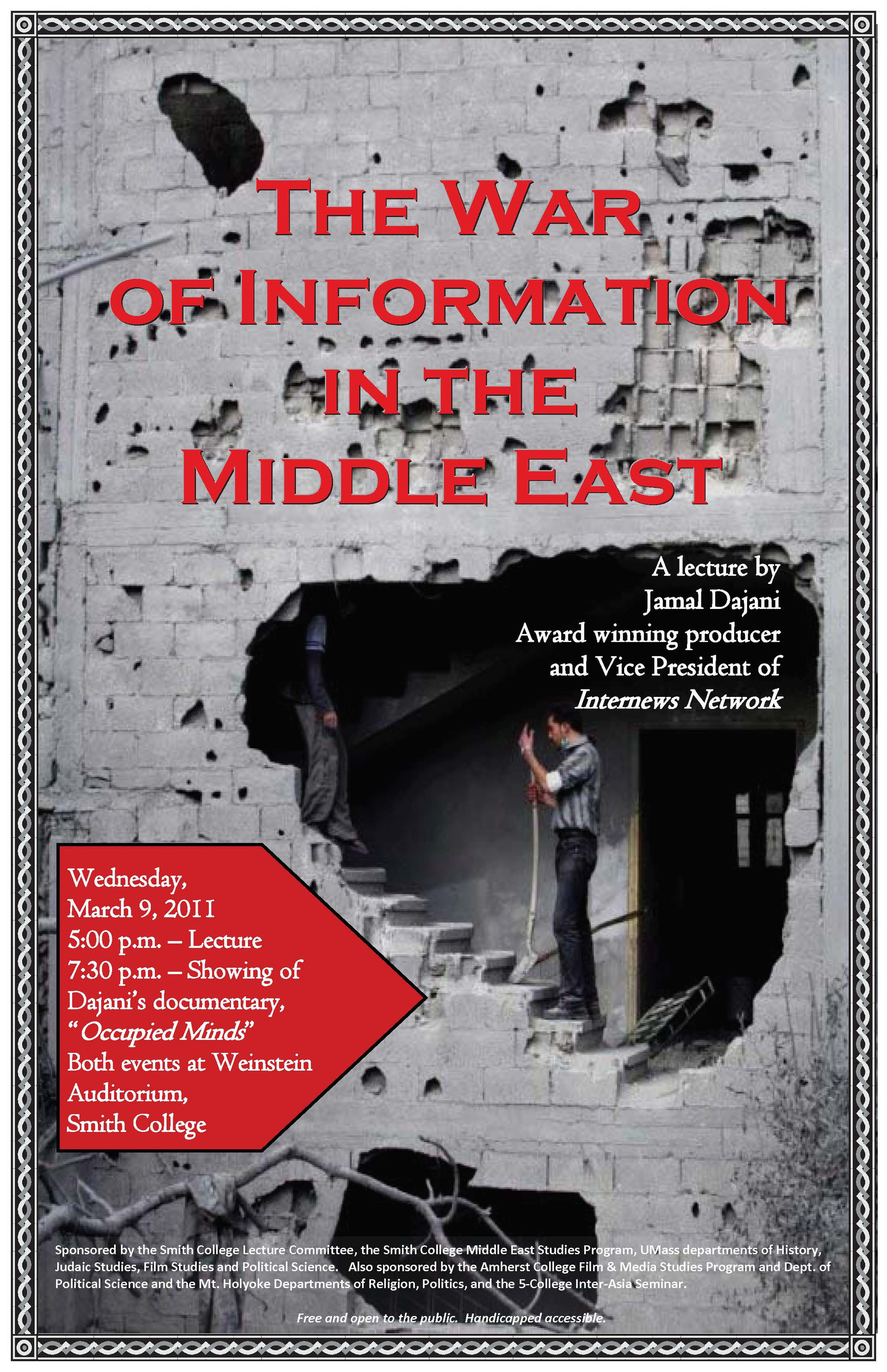 Middle East Lecture - Smith College