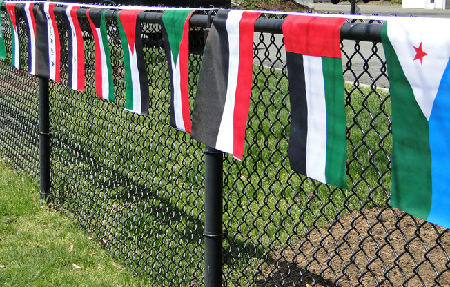 Flags of the Arab World - Arabic Cultural  Festival
