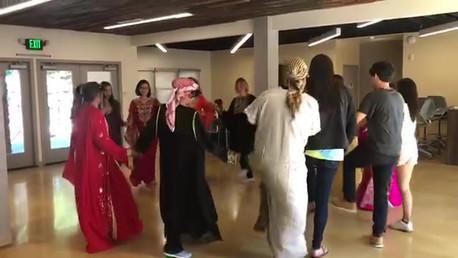 Students Learn Arabic Dance - Summer Intensive Language Program