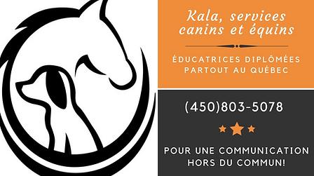 Kala, services canins et équins