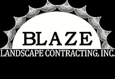 blaze landscaping logo
