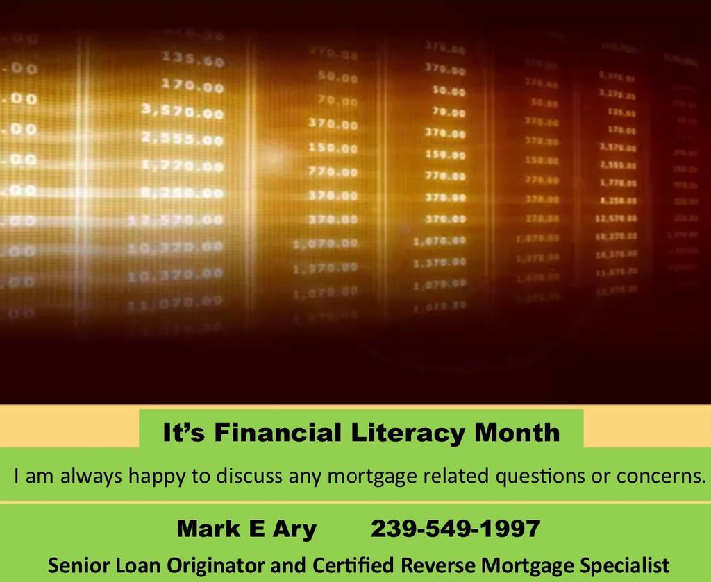 happy financial literacy month - HD1024×840
