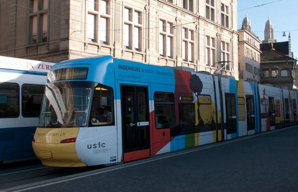 Tram Aussenansicht