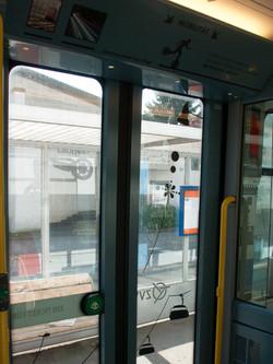 Tram Ansicht von innen