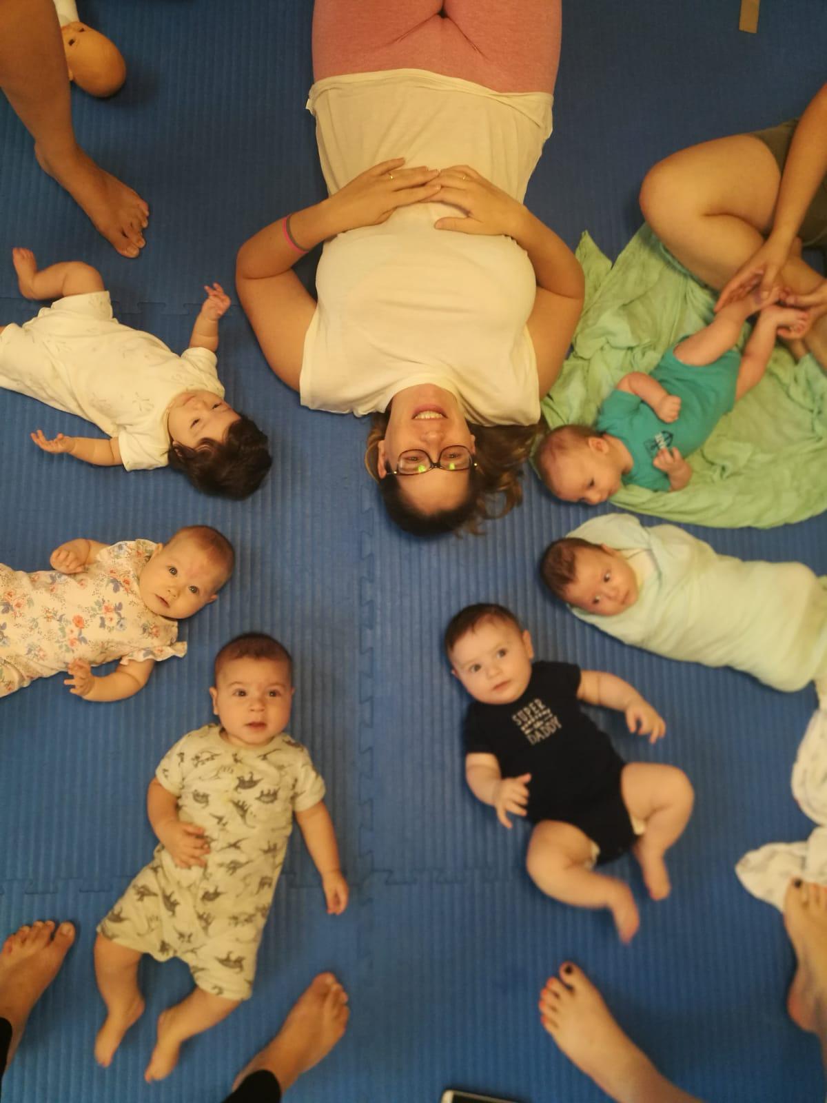 יוגה לתינוקות