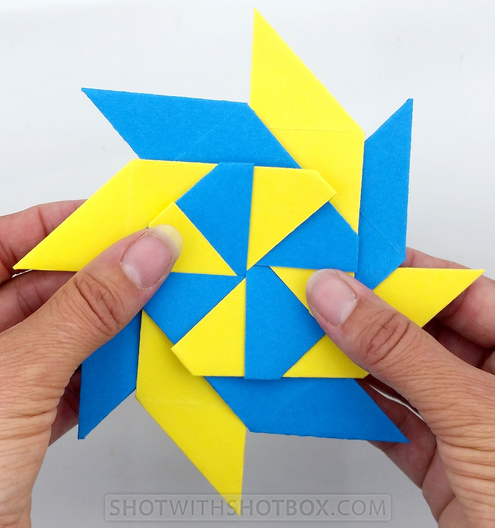 8 Sided Paper Ninja Star