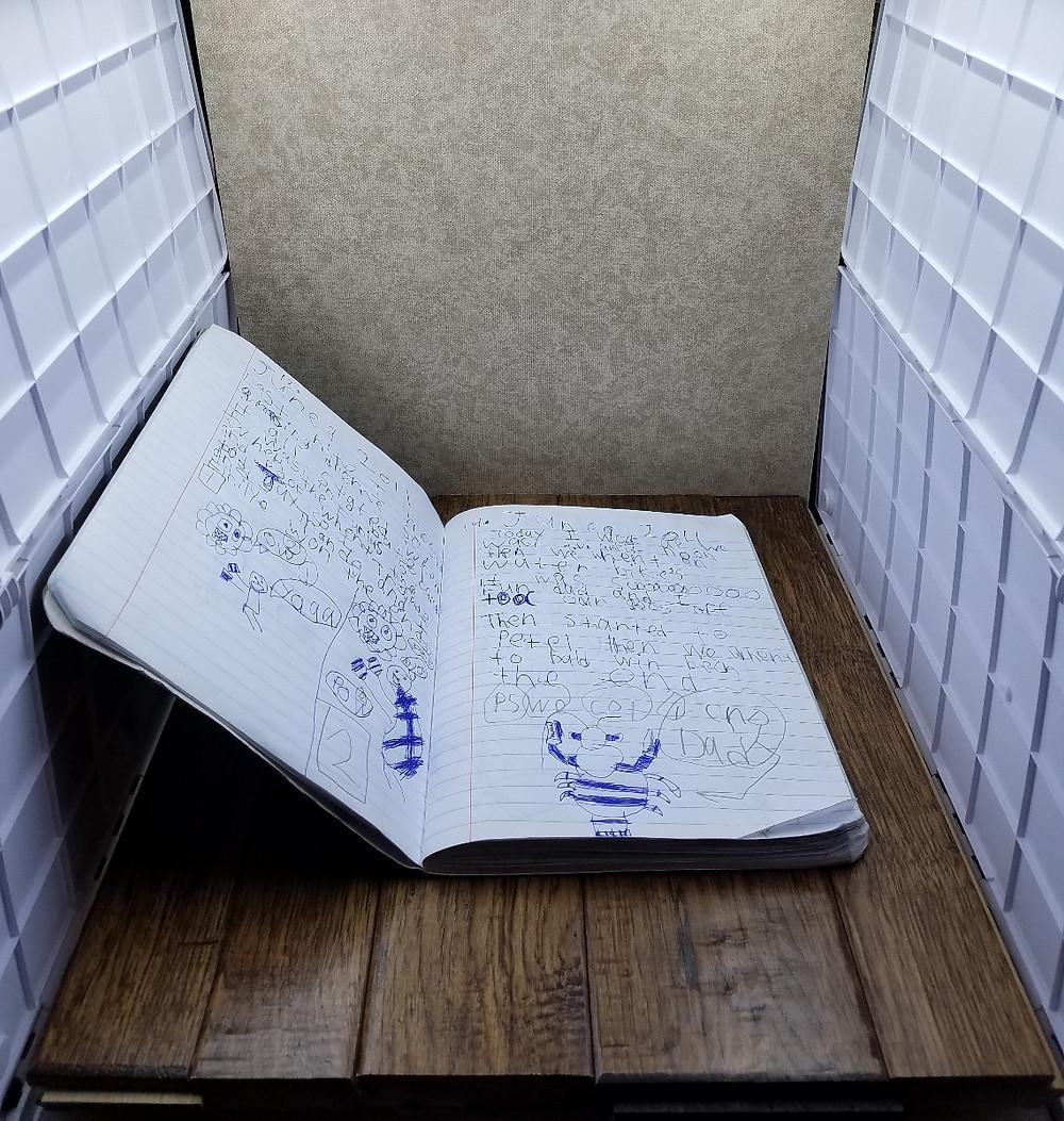 Journal Page SHOTBOX Setup