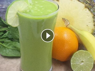 Tangy Morning Smoothie Video