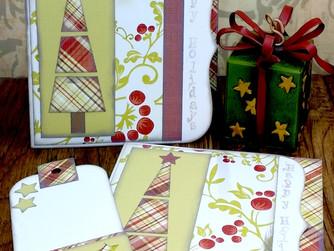 Happy Holidays Tree Card