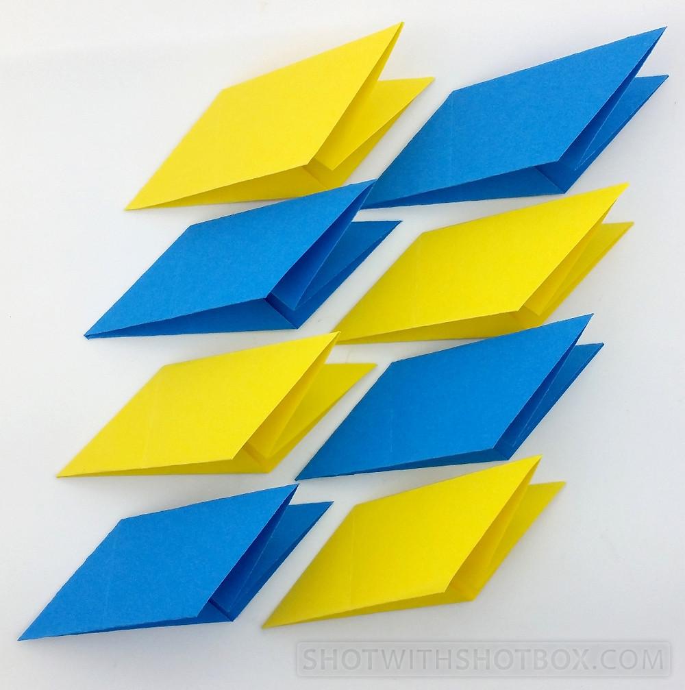 Step 5: Create 8 Rhombuses