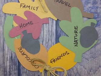 Fall Gratitude Wreath