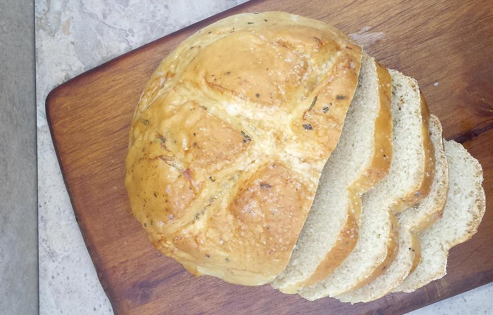 Sliced Rosemary Bread