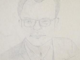 35 Year Old Pencil Portrait
