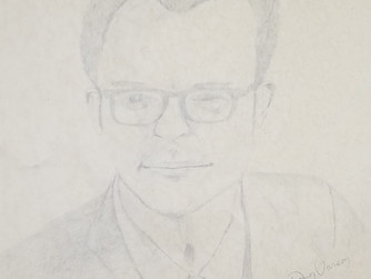 35 Year Old Pencil Portrait