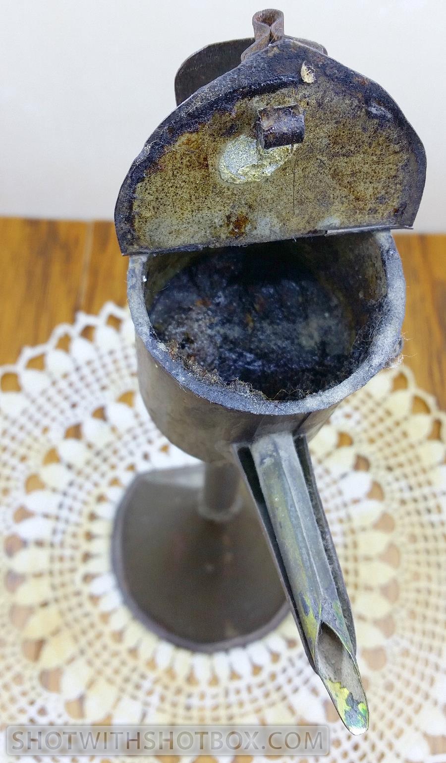 World War II Era Oil Lamp