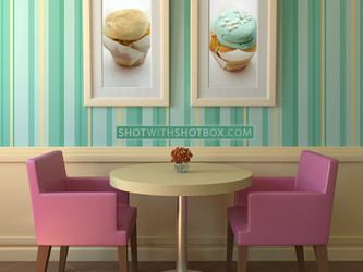 Cupcake Shoppe Wall Art