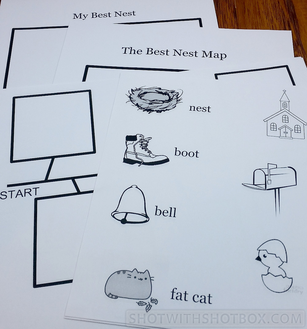 The Best Nest Learning Kit Activities