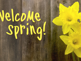 Welcome Spring Background