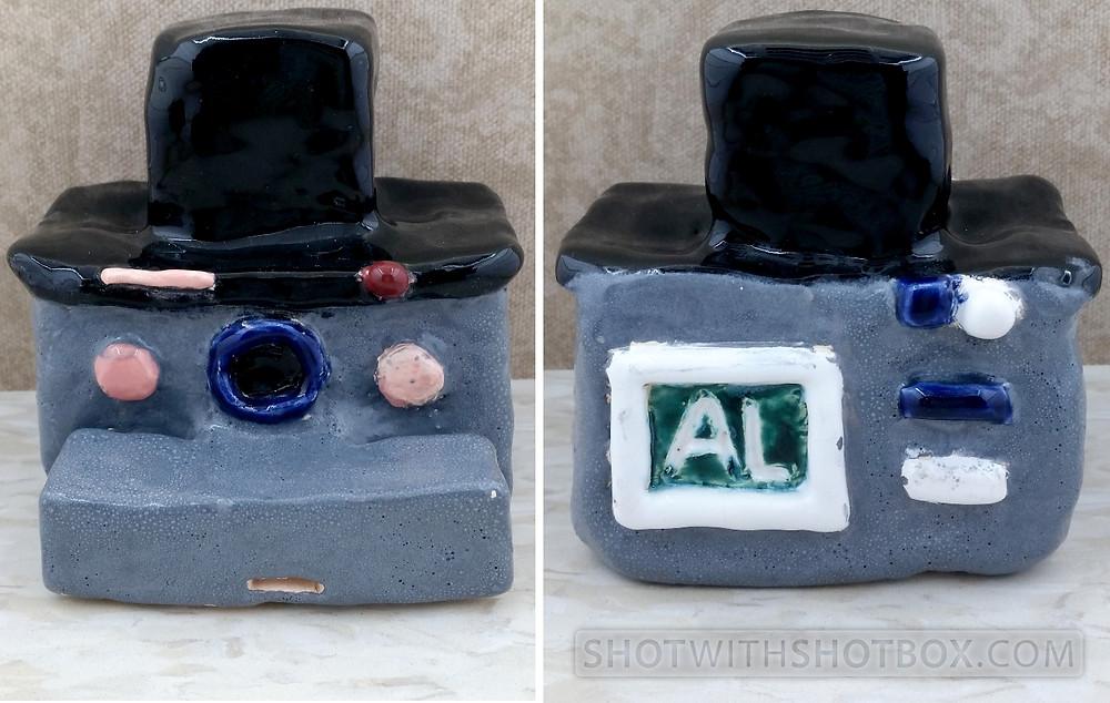 Ceramic Old Fashioned Camera Whistle
