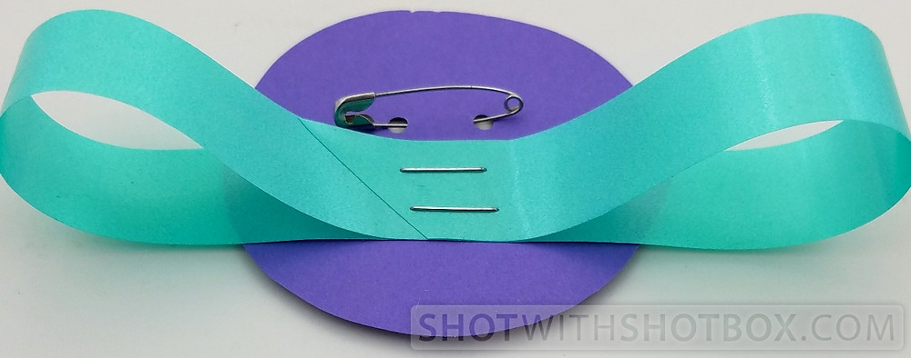 Tissue Paper Corsage Step 2