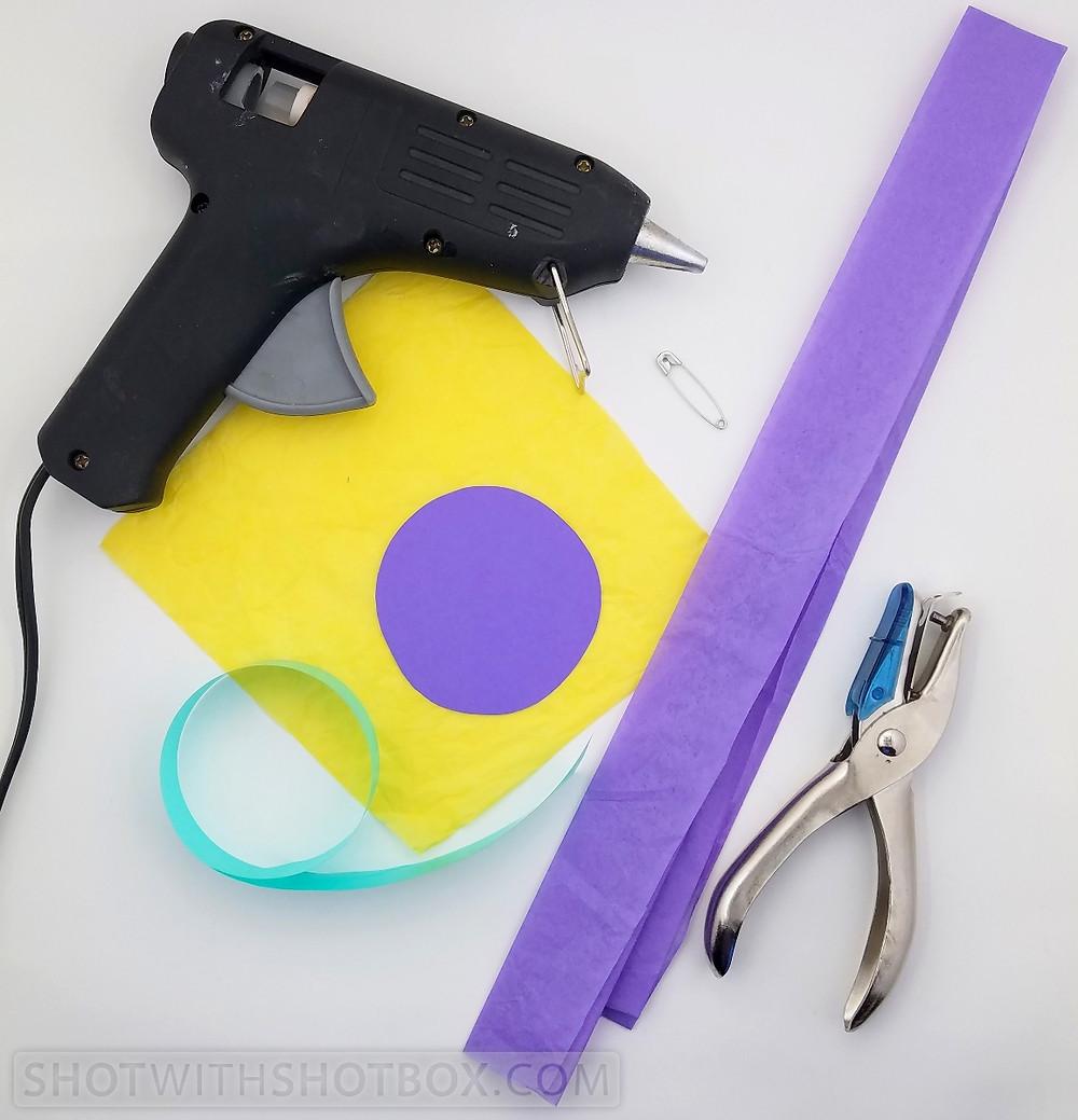 Tissue Paper Corsage Supplies