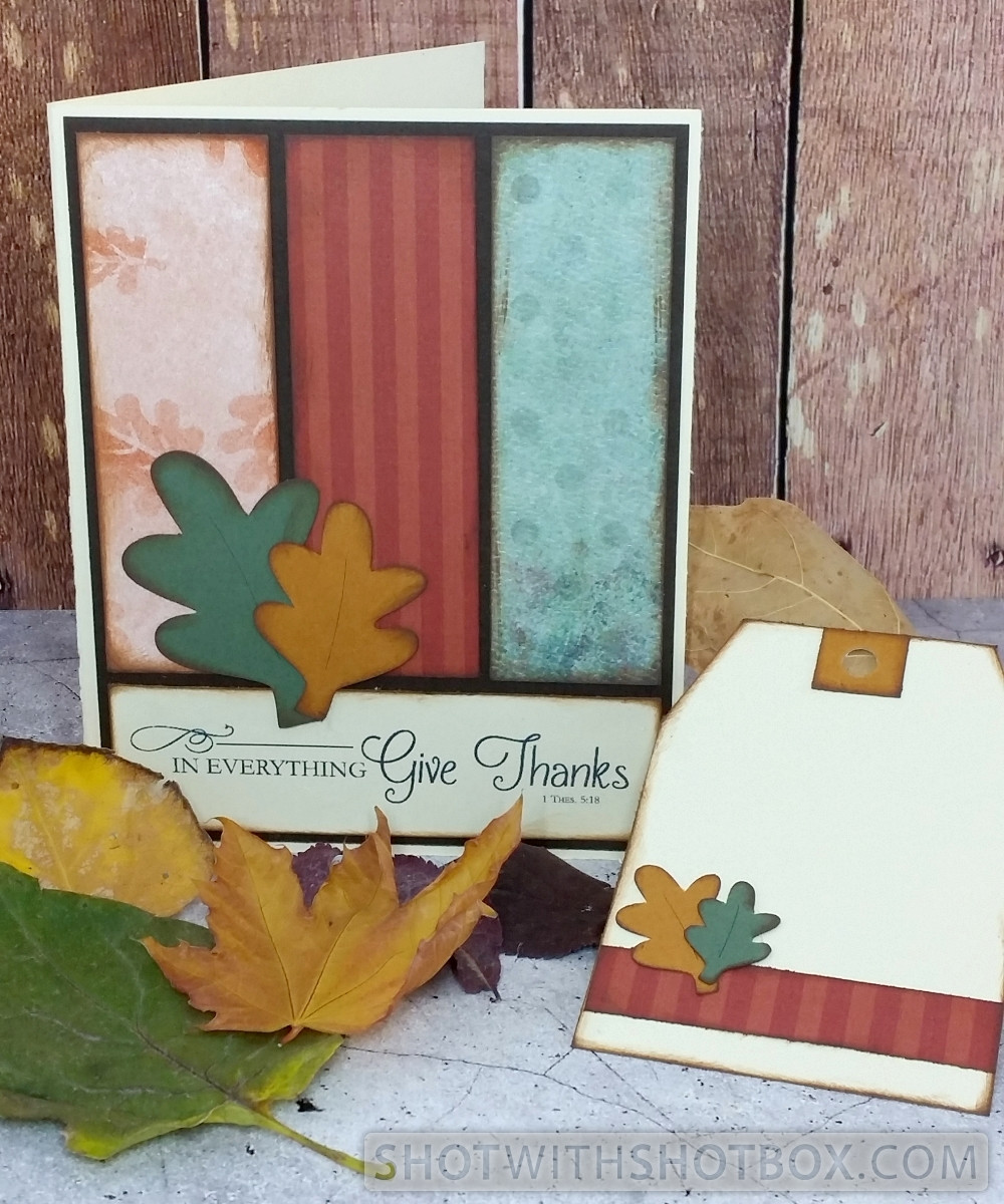 Give Thanks Card and Tag