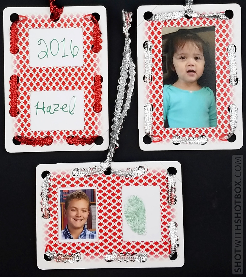 Playing Card Ornaments