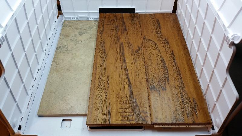 Wood on Tile Base