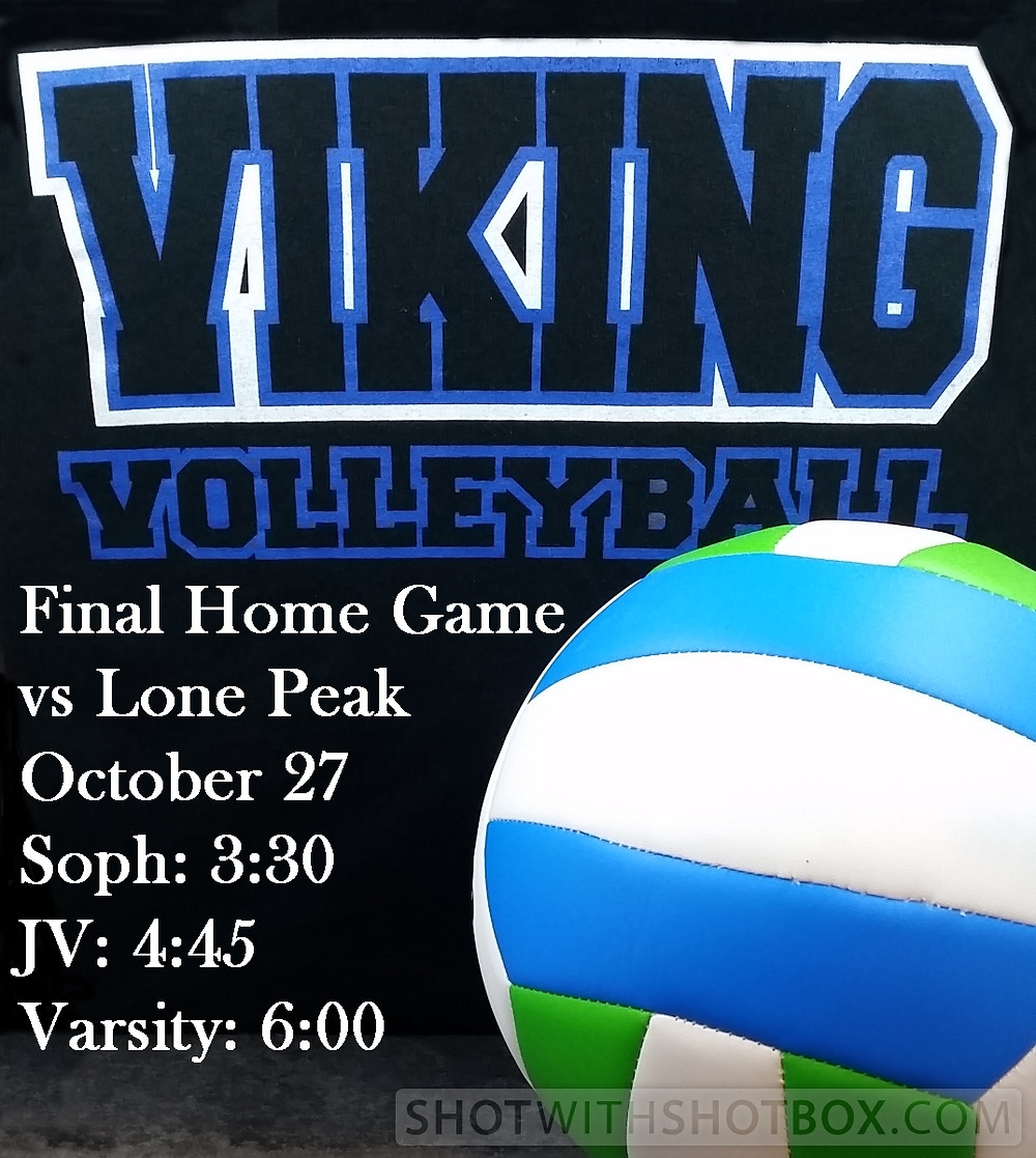 Viking Volleyball Announcement