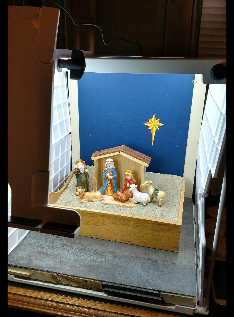 Nativity Set Staging
