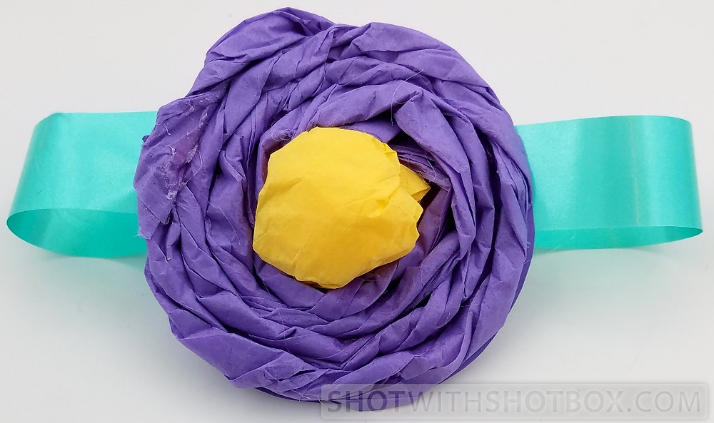 Finished Tissue Paper Corsage