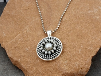 Recycled Zipper Necklace