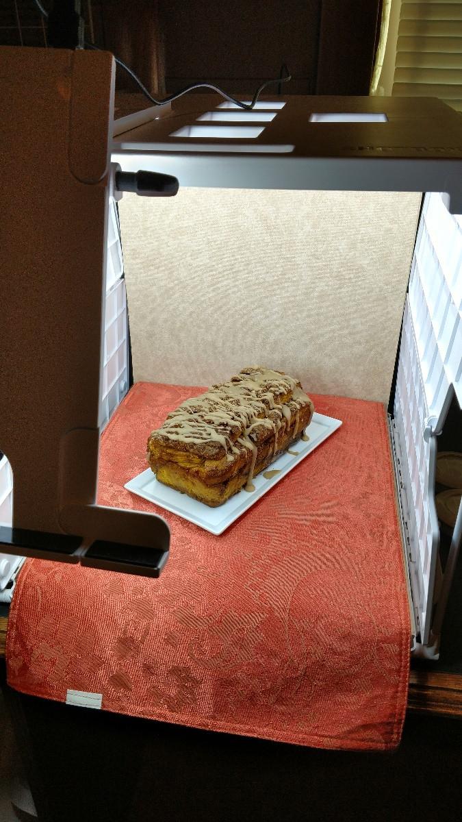 Pumpkin Pull Apart Bread Staging