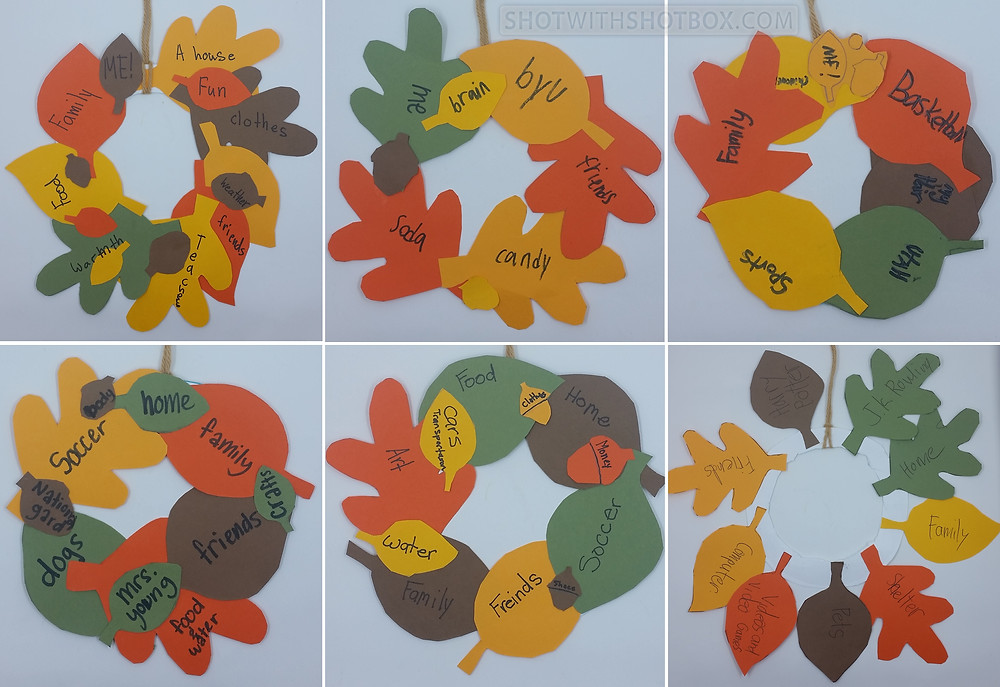 Student's Gratitude Wreaths