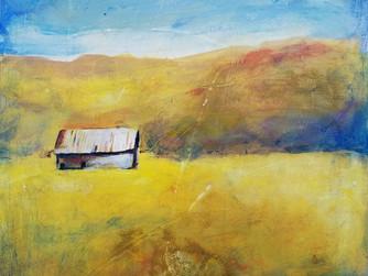 Rustic Barn Painting