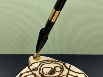 Gallifreyan Pen Holder