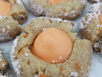Carrot Cake Kisses Cookies Recipe