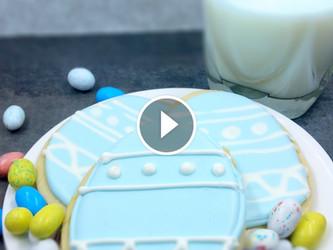 Easter Egg Sugar Cookie Video