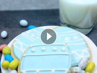 Easter Egg Sugar Cookie Video
