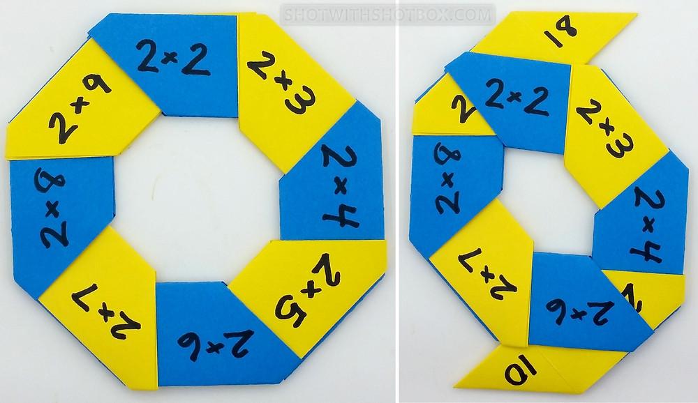 Octagonal Math Slider