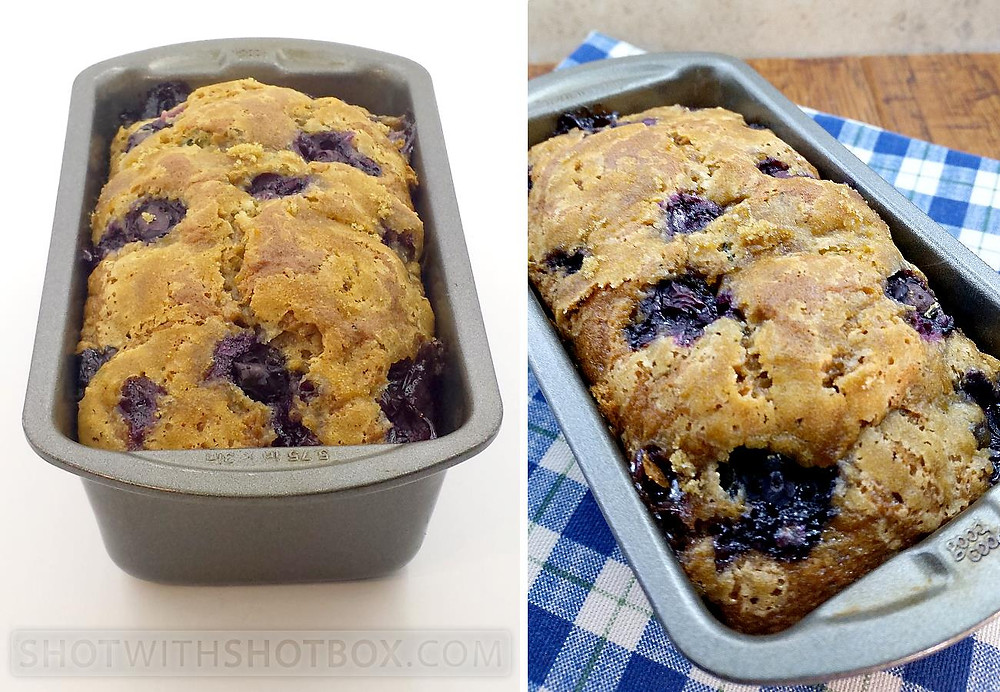 Loaf of Blueberry Zucchini Bread