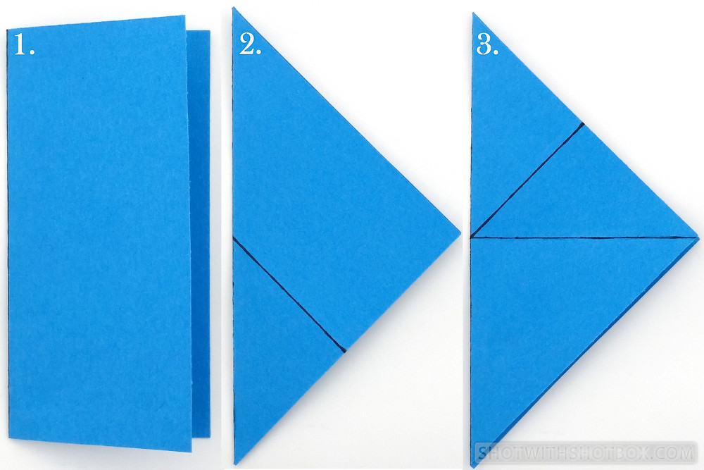 Step 2: Fold Your Paper Squares