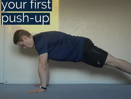 How to get your first push-up