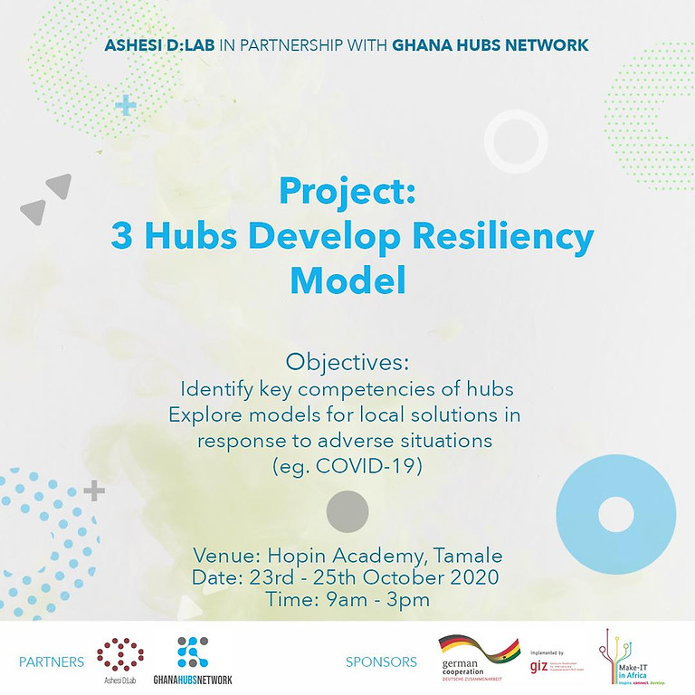 Hub Resiliency Project: Tamale