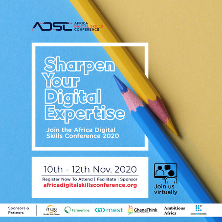 The Africa Digital Skills Conference (#ADSC2020)