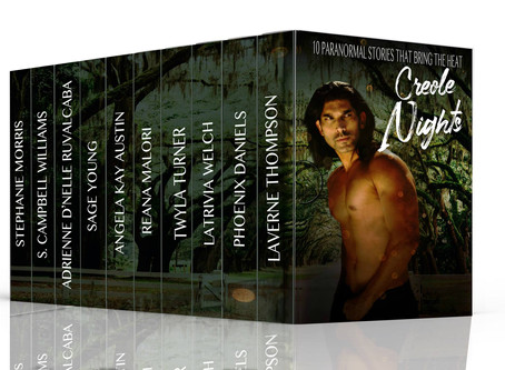 *Contest and Pre-Order!!* Creole Nights Anthology