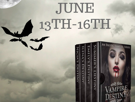 Vampire Destiny Box Set Release Hop, hosted by Ariel Marie