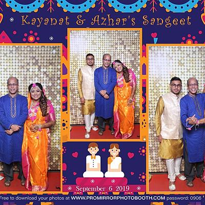 Kayanat&Azhar's Sangeet