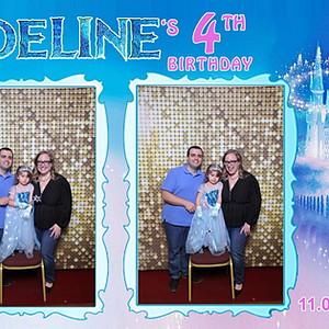 Adeline's 4th birthday