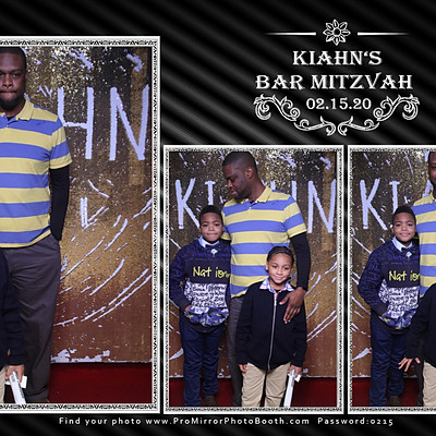 Kiahn's Bar Mitzvah